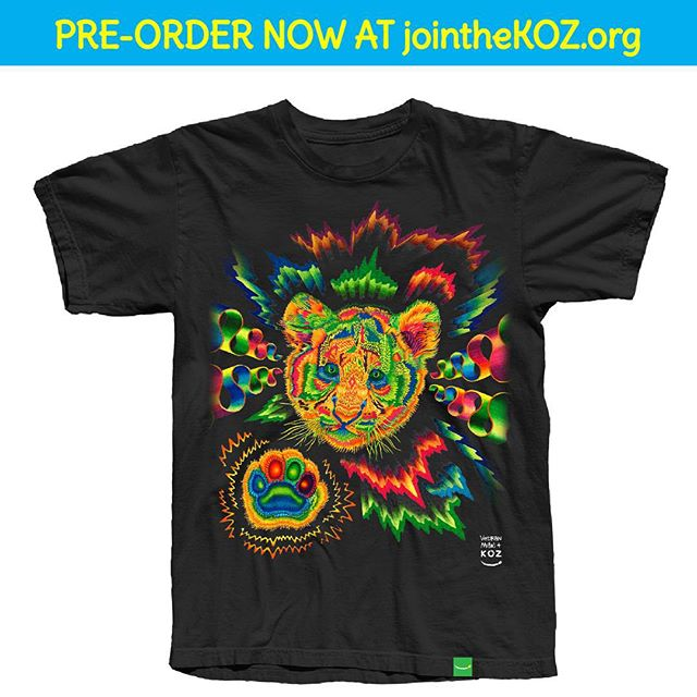 Now taking pre-orders for our very first Green Label design - @vedran_misic's, Tigerito! Link in our bio.