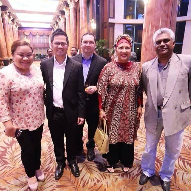 At the Malaysia Social Media week 2013