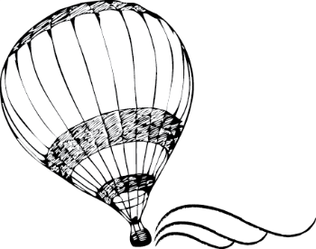 The Next Escape: Travel, Arts, Sports and Lifestyle  Logo Design:   Mazli Dian    The logo represents the minimalist philosophy of the website and the founders. The balloon in flight encapsulates travel, lifestyle, arts and sports while the black and white scheme and the gracefulclassical lines is our nod to a bygone era of elegance in travel. Also this colouring scheme lends flexibility for future creative derivatives.