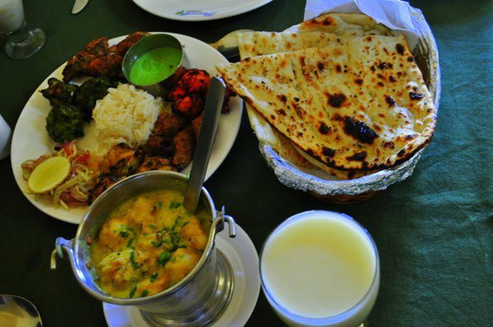 Lunch at Peacock Restaurant, Jaipur.