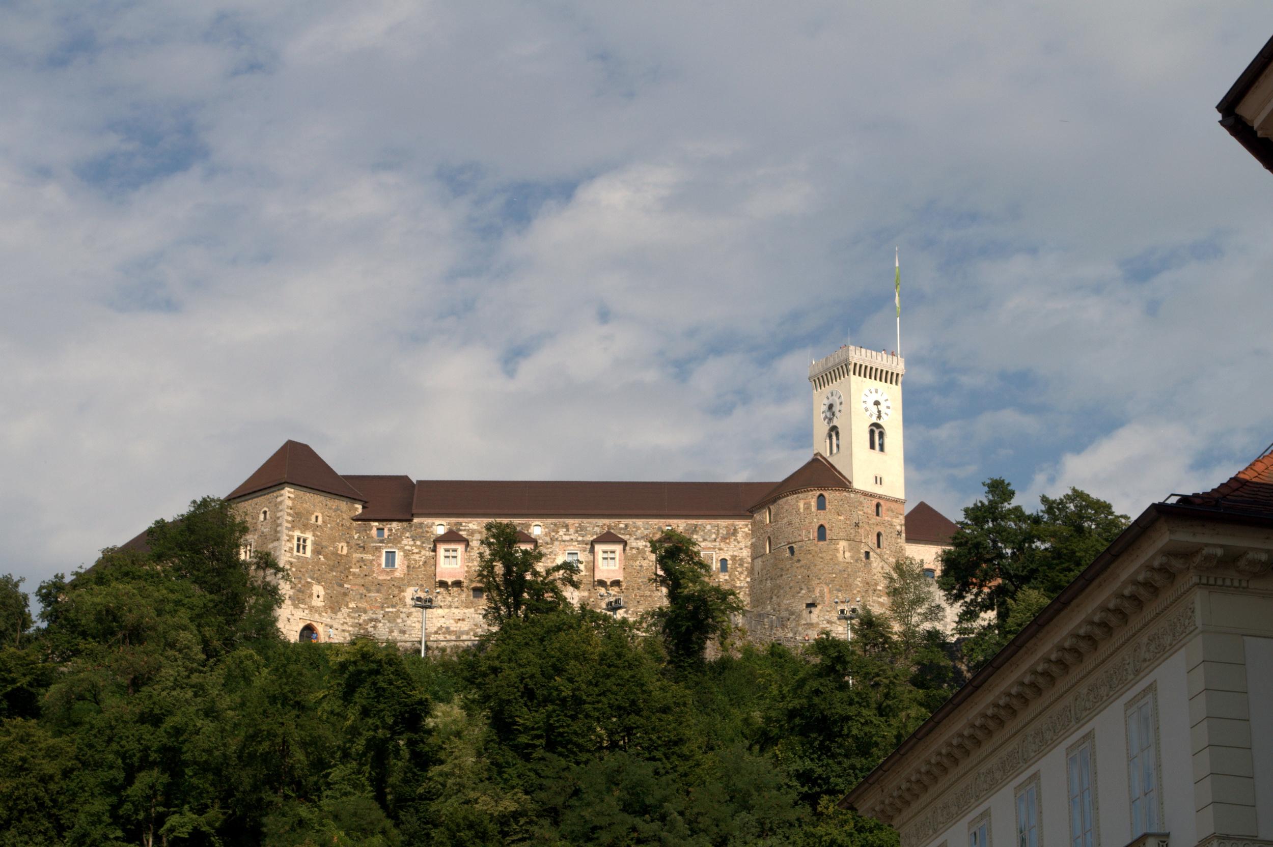 The Ljubljana Castle.
