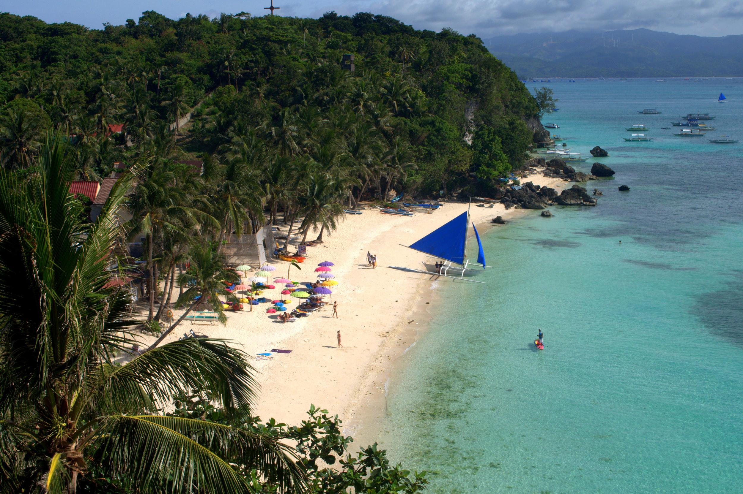Diniwid Beach, Boracay Island