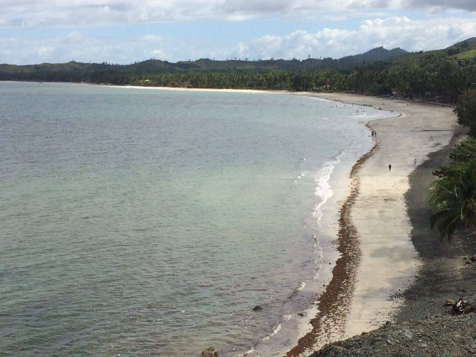 Jawili Beach in Tangalan: quiet and very rural.