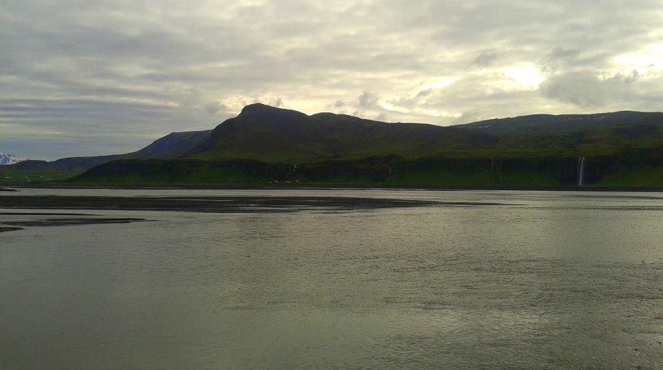 The western side of Eyjafjallajökull