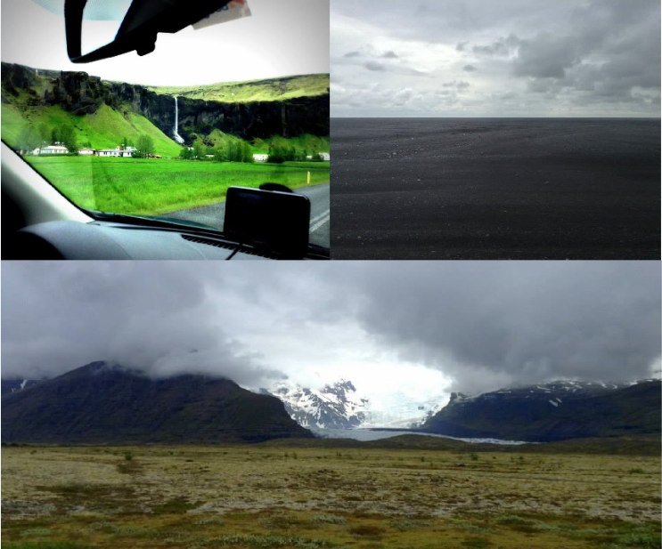 We were continually stopping to stare at the stunning scenery