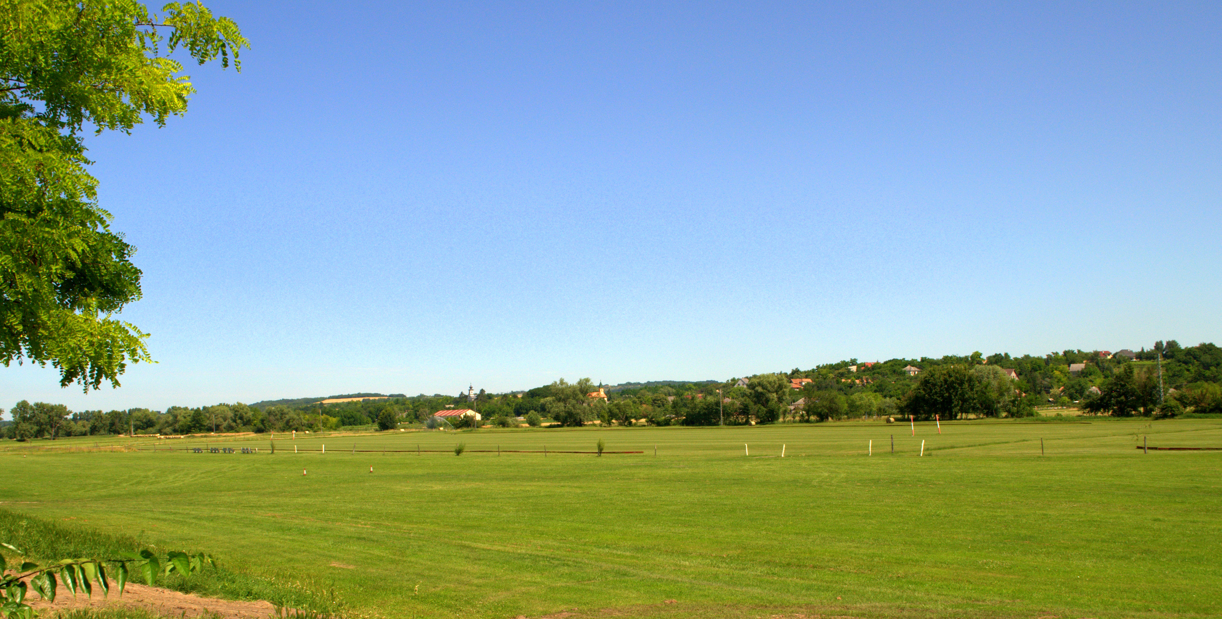 The beautiful pitch of Hungarian Polo Club/Magyar Polo Club.