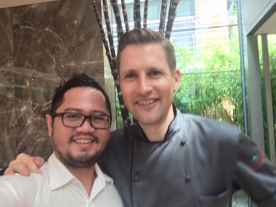 The Next Escape's Dave Ryan Buaron and Chef Michael Kempf of Facil Berlin