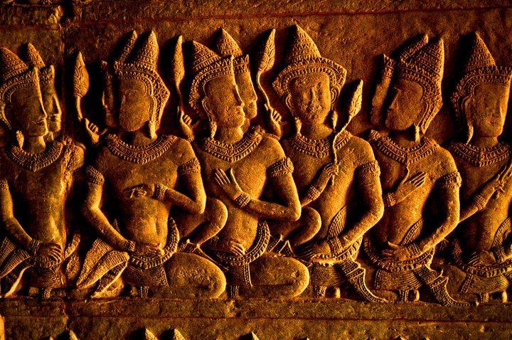 carvings angkor
