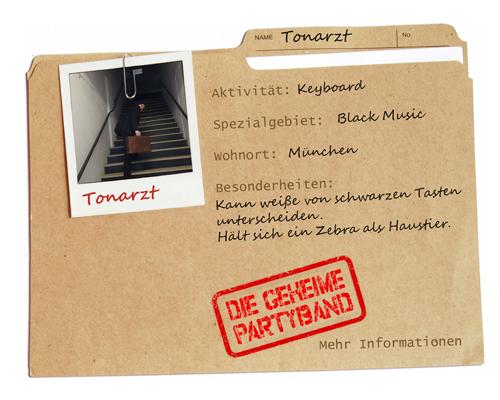 Partyband München - Tonarzt