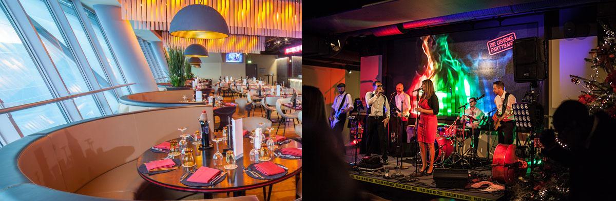 Säbener Lounge in der Allianz Arena