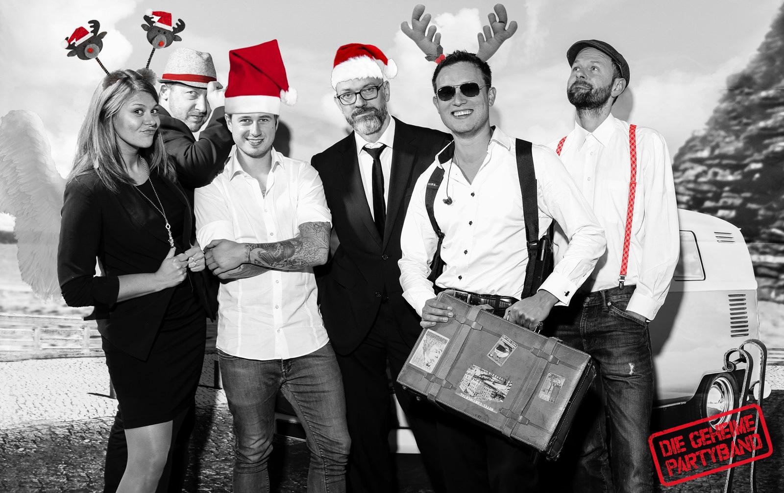 partyband weihnachten