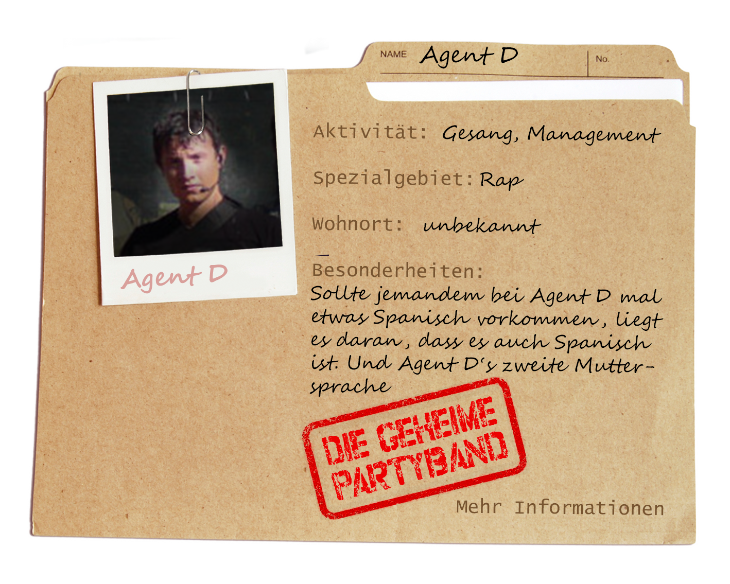 Partyband München - Agent D