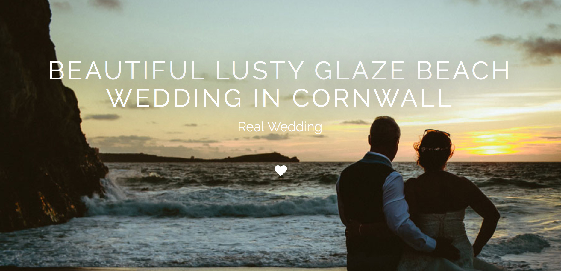 beautiful memories of hot summer days by the beach with this feature of Sarah-Jane & David's beach wedding at Lustyglaze ..view more on   yourperfectweddingphotographer