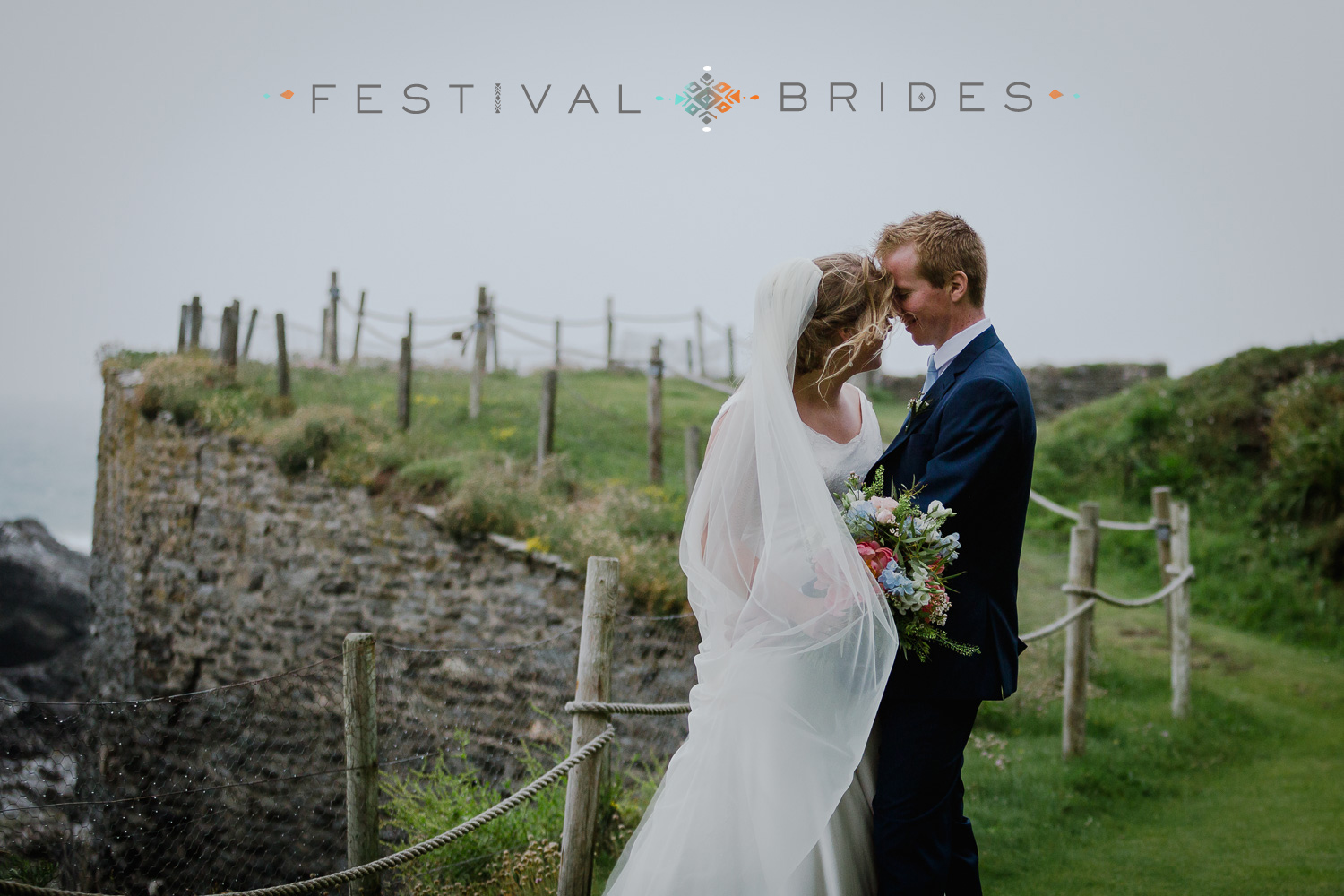 Zoe & Dave's cosy wedding at the cosy Prussia Cove in Cornwall with it's great surf vibe is featured on   festivalbrides   . This one is a cracker! Filled with DIY ideas, beautiful flower, delicious sweets and a great festival style wedding vibe...Have a look and get inspired!