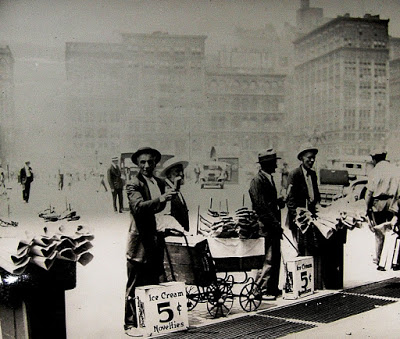 New York City Ice Cream Venders, circa 1930, Courtesy of the Library of Congress