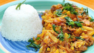 Peruvian Olluquito con Charqui, this and other recipes below