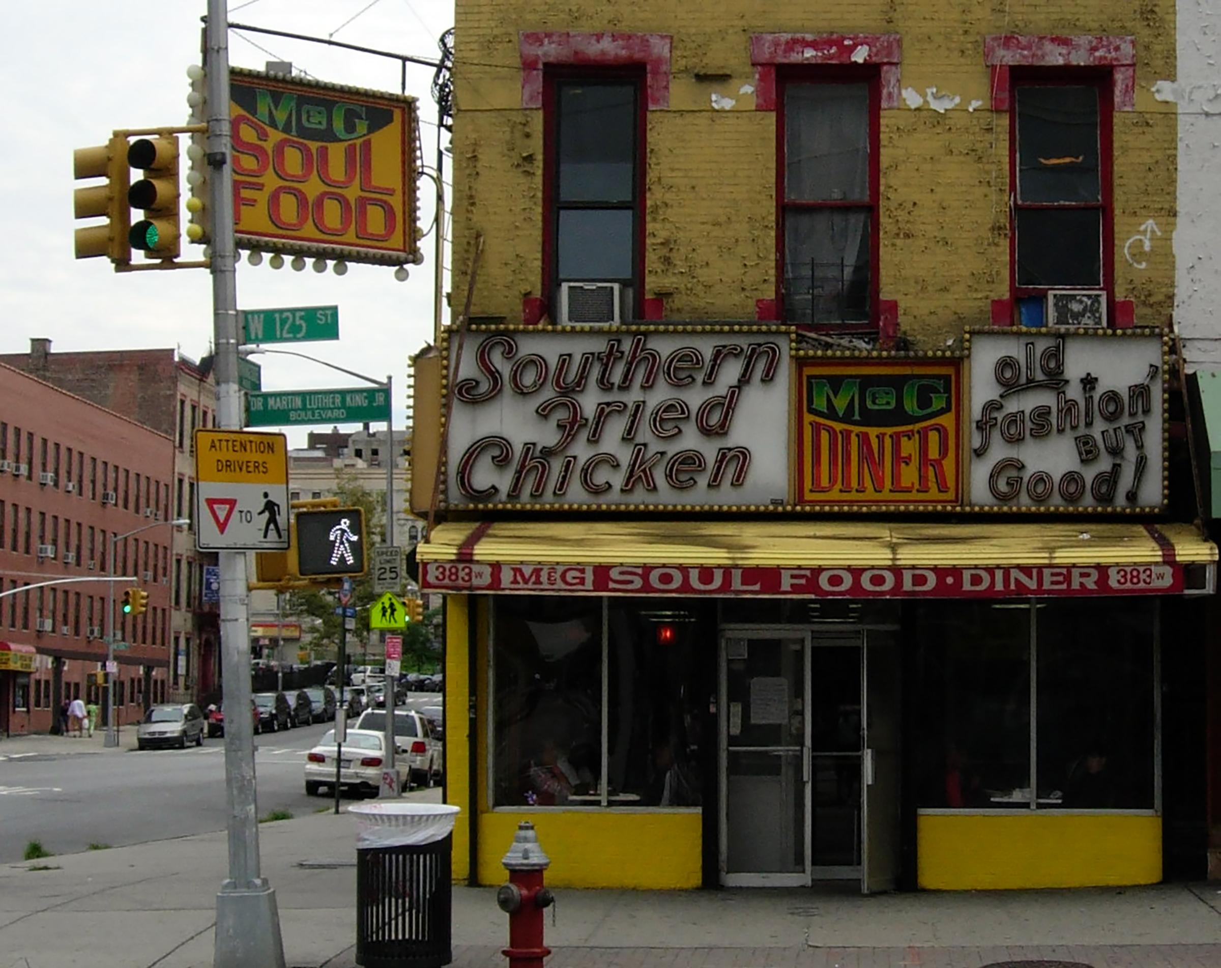 M&G Soul Food Diner in Harlem, Courtesy of Food Prof Productions
