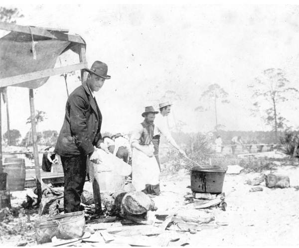 Fish Fry, Courtesy of the State Archives of Florida, Florida Memory Project