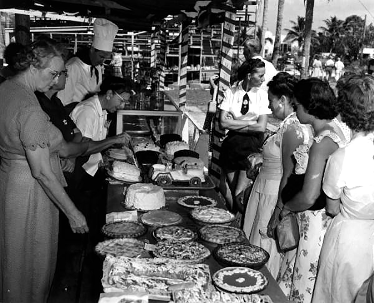 Baking contest, Naples, Florida, 1950, Courtesy of State Archives of Florida, Florida Memory Project