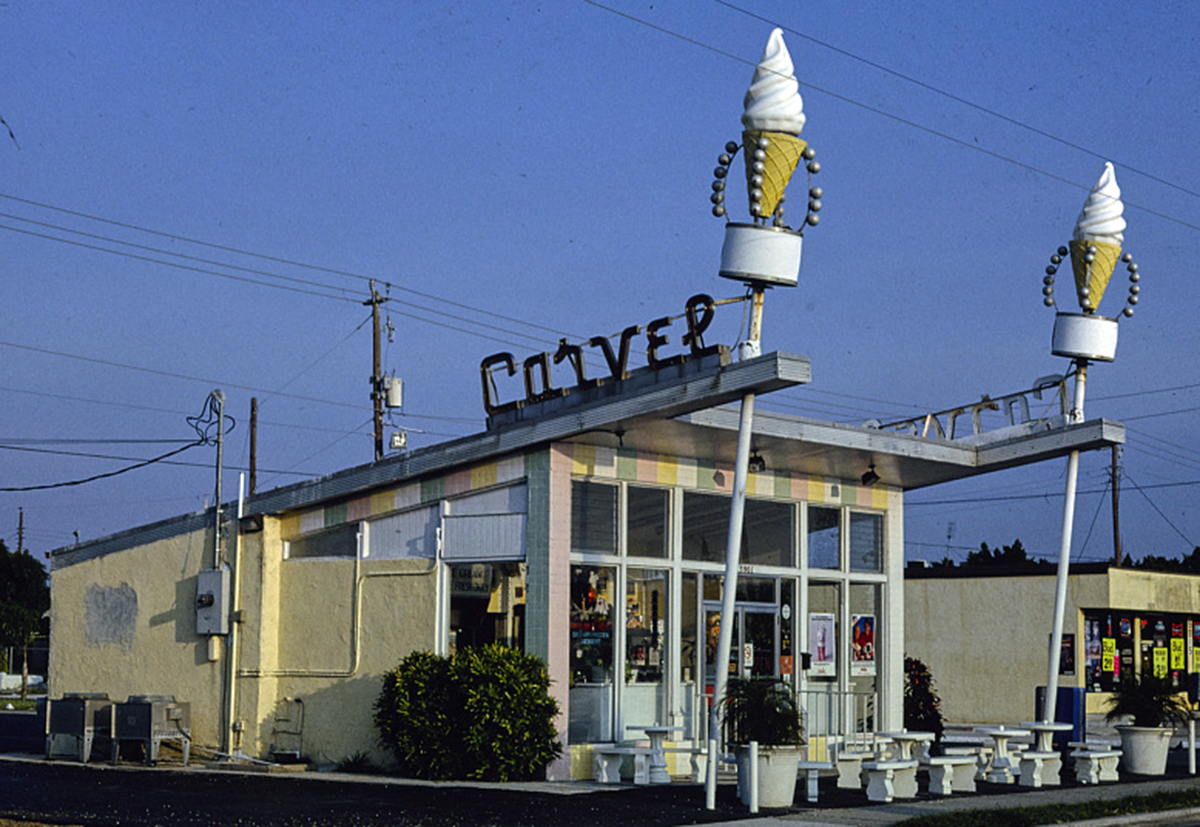 Carvel Ice Cream Stand, Courtesy of the Library of Congress