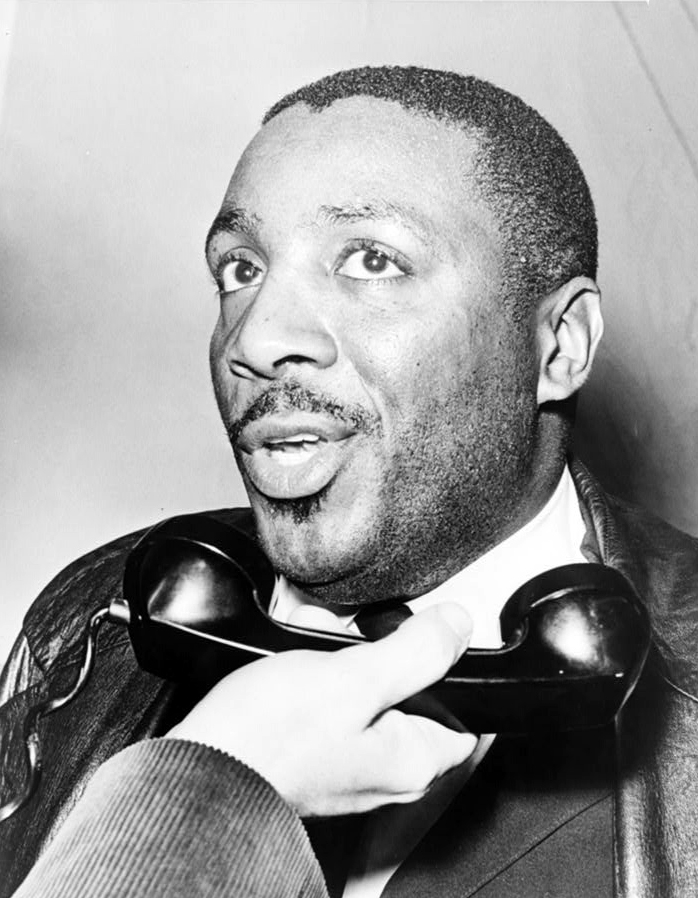Dick Gregory in 1964, Courtesy of the Library of Congress