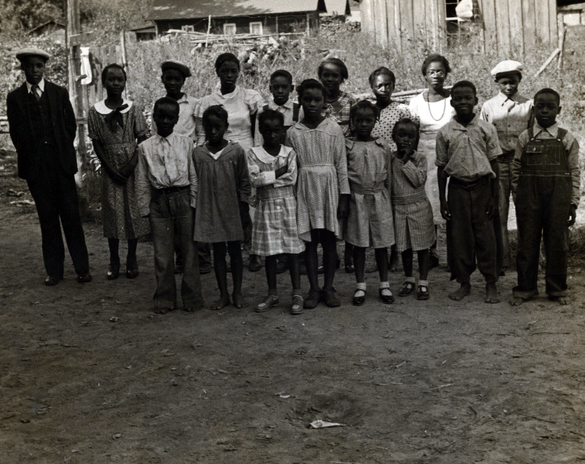Children of Sharecroppers in Little Rock, Arkansas (Courtesy of the New York Public Library, Circa 1935)