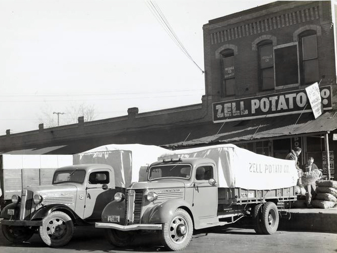 Zell Potato Company circa 1938, Courtesy of the New York Public Library
