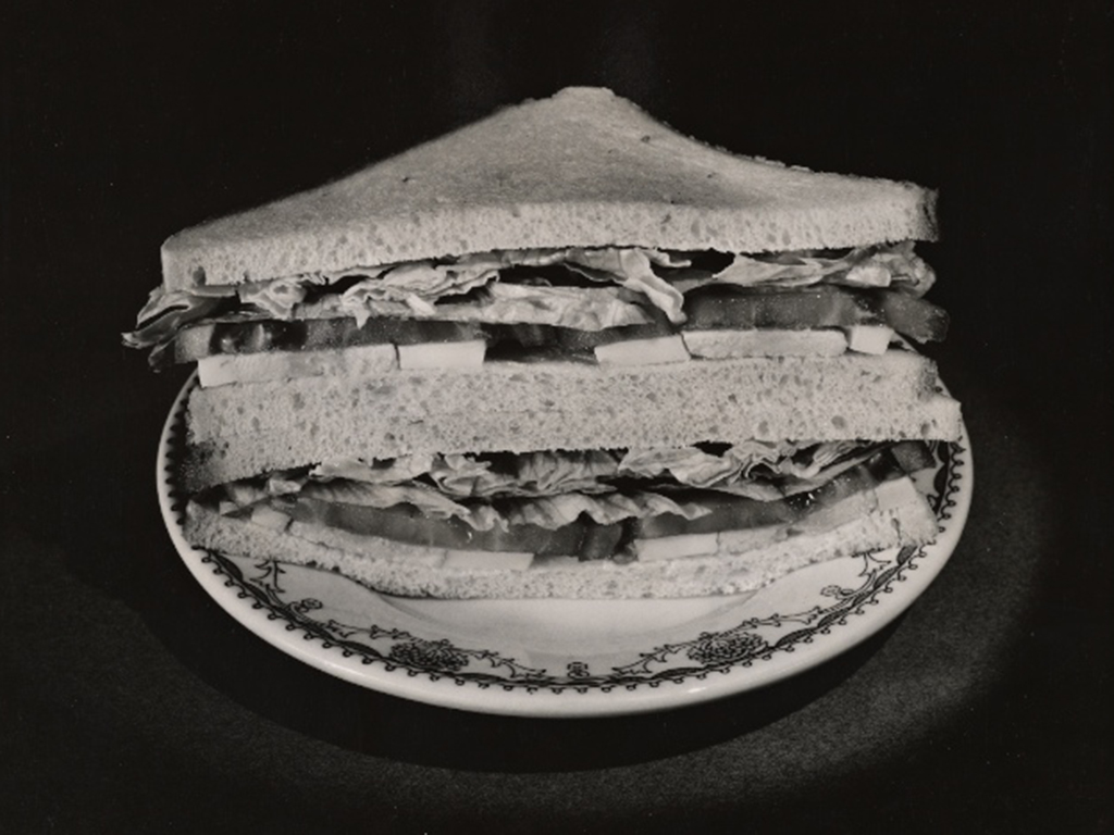 Sandwich similar to what I used to eat at HCCC in the 1980s, (Courtesy of the Library of Congress)