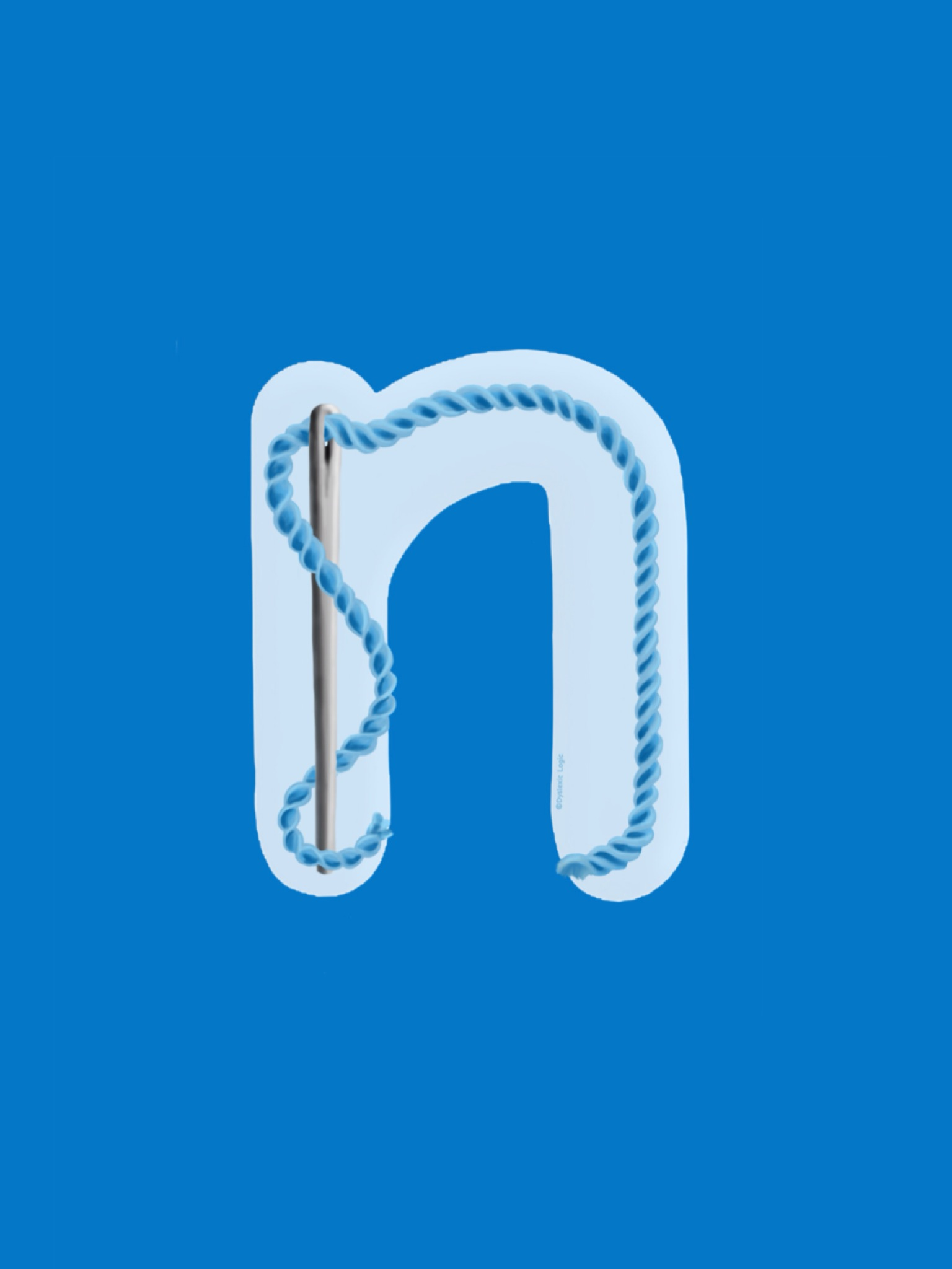 Letter N - Nice New Needle