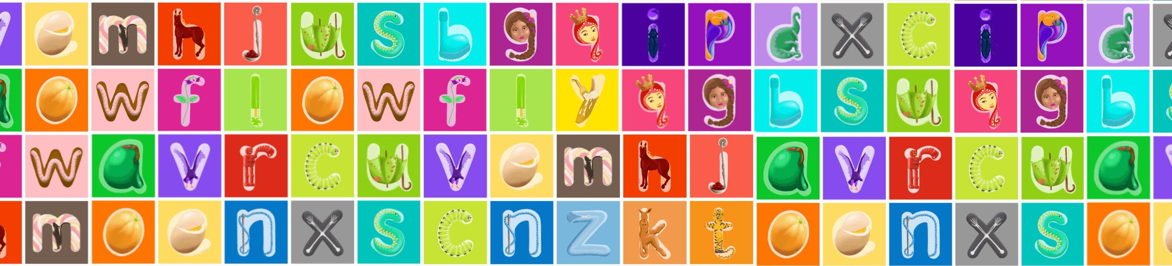 Alphabet Wallpaper Image