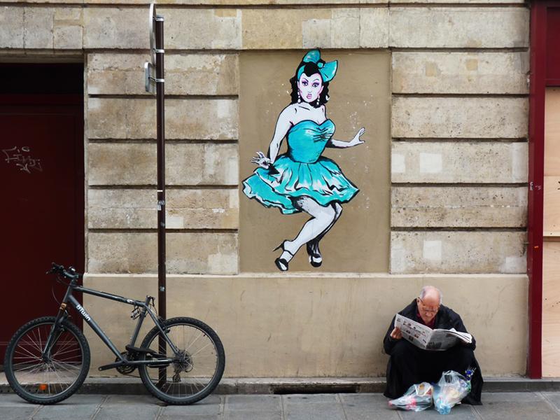 Ben dela Creme  Paris 2014