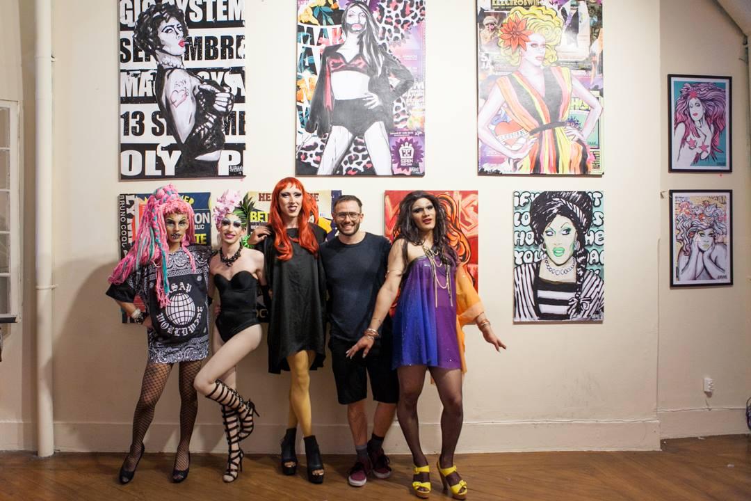 Alma Negrot, Eva-x, Thiagx, Suriani and Kelly Caramelo