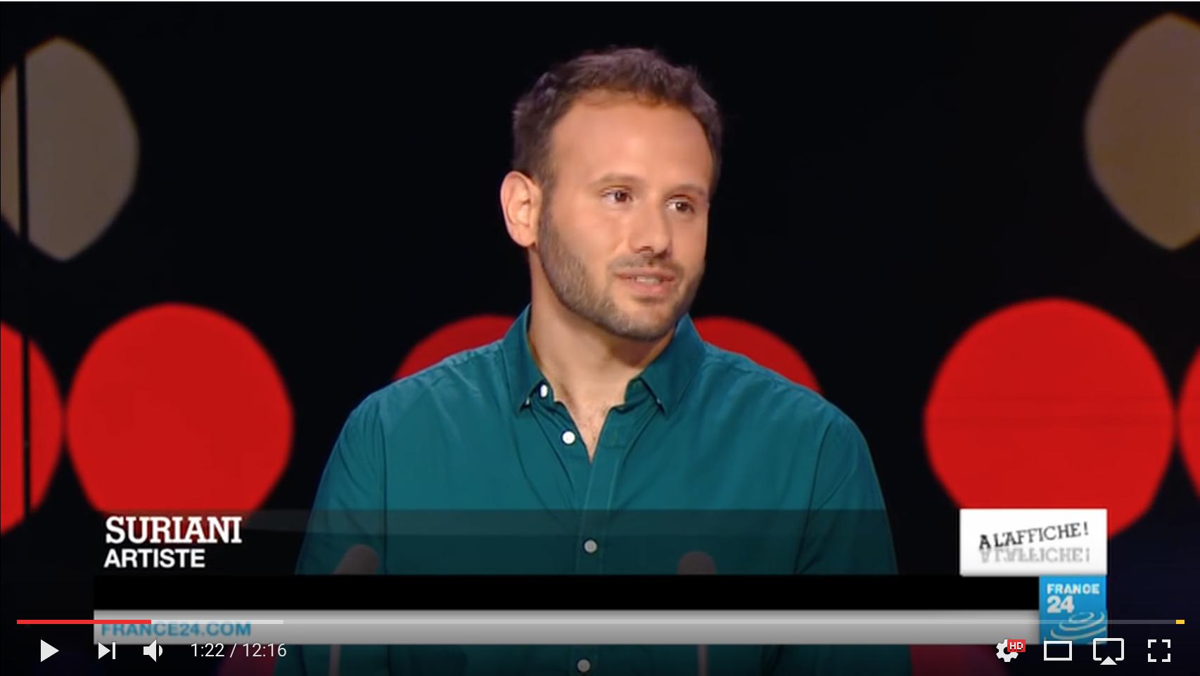 France 24 interview en français