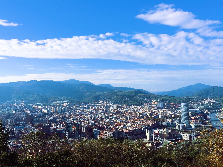 A view from Mt Artxanda.