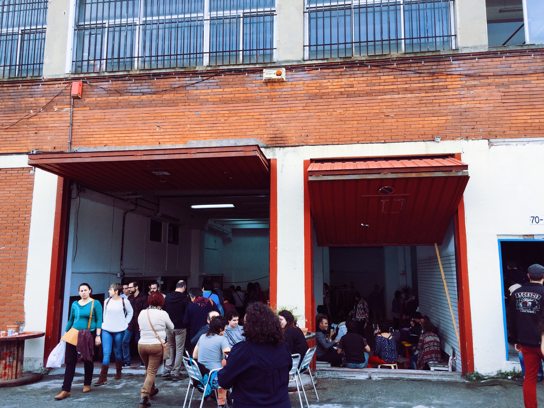 Cookie Factory flea market.