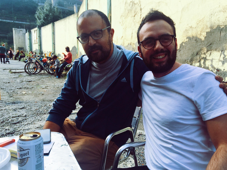 Me and Karim.