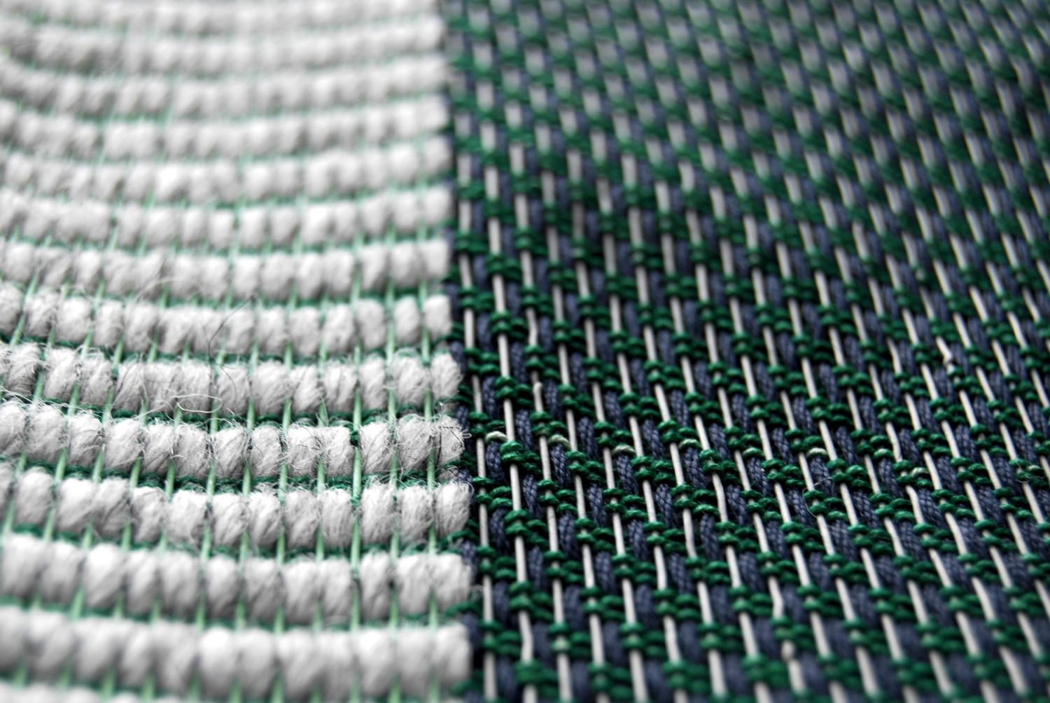 A close up of Linear Dynamics In Green. 25x30cm (exc. frame). Available at the new Analogue Shop. See it in all it's glory this Friday at The Lighthouse.