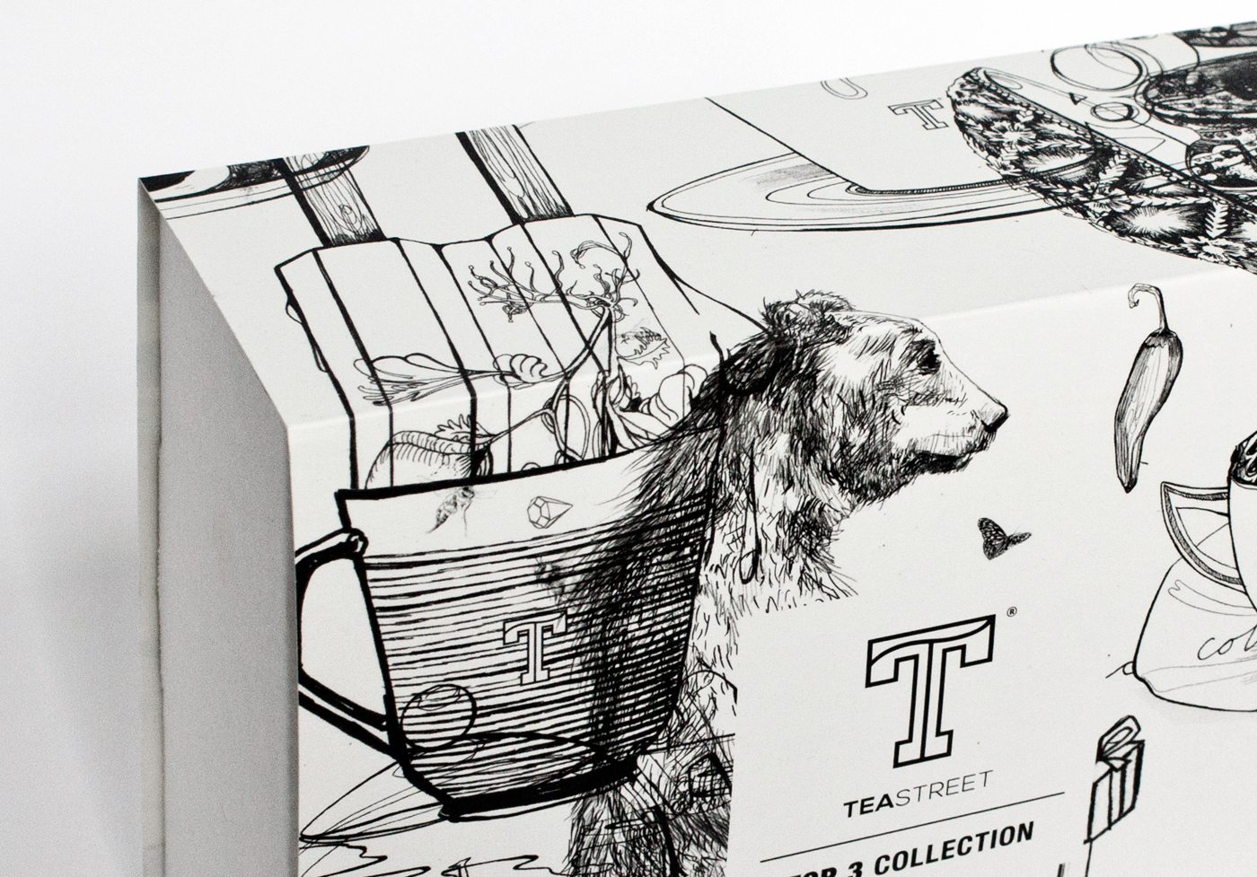 fig. 2. Detail illustrations packaging giftbox