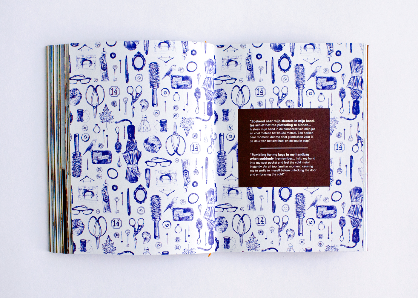 fig. 2. Pattern in Creenstone book