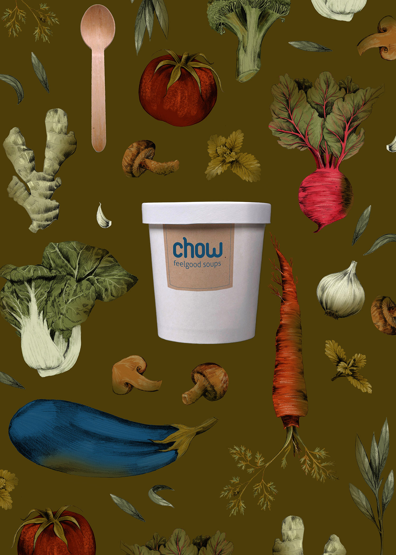 fig. 1. Chow Soup poster