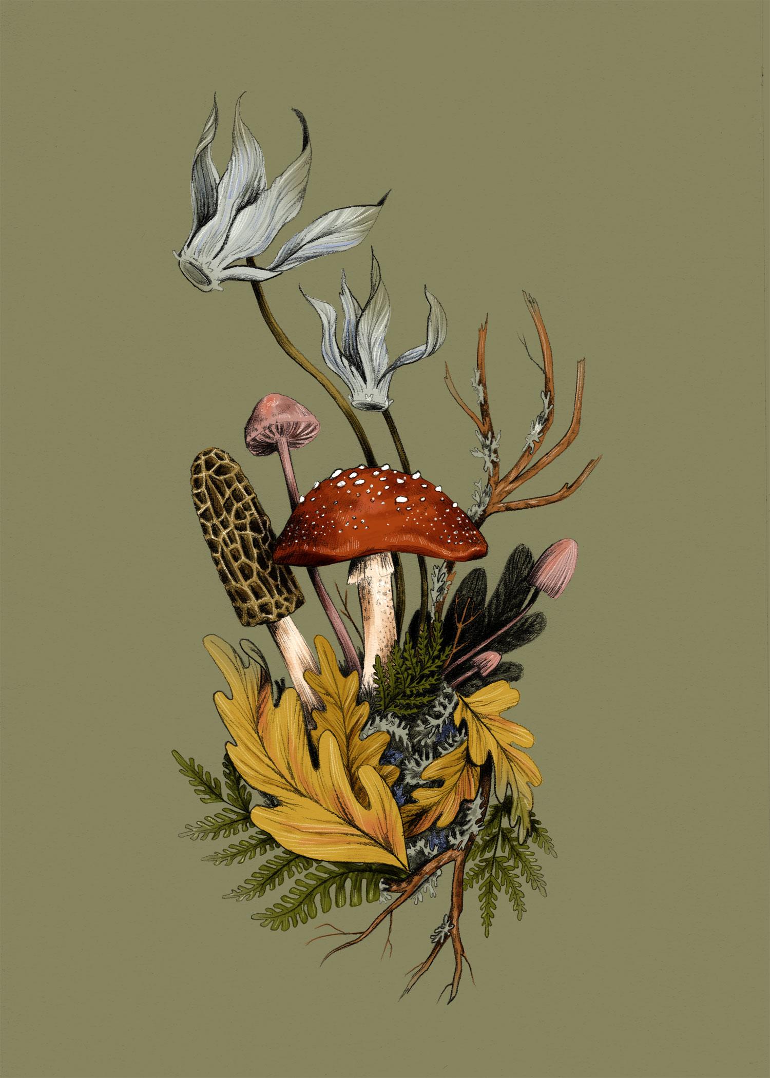 fig. 1.Autumnal Scene
