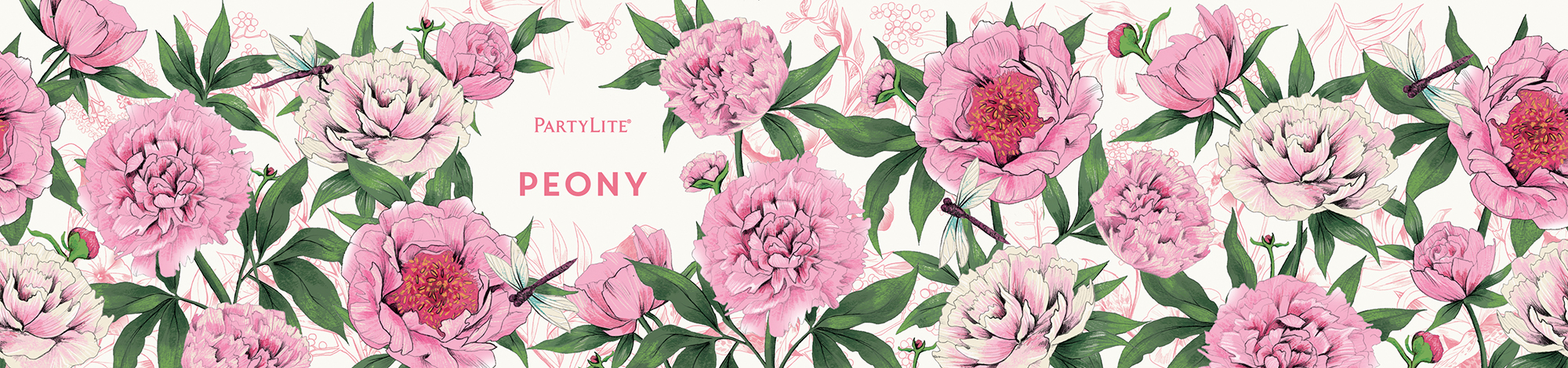 fig. 12. Peony candle wrap pattern illustration