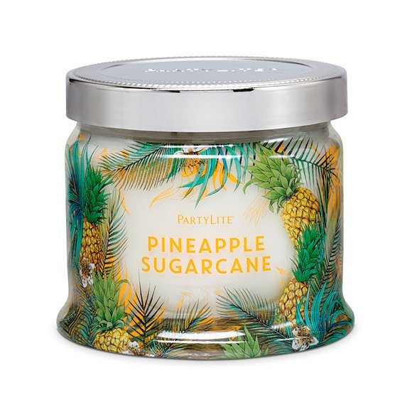 fig 4. Pineapple Sugar Cane candle