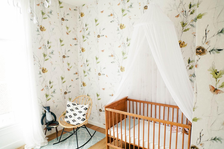 Woodland Nursery Wallpaper La Scarlatte