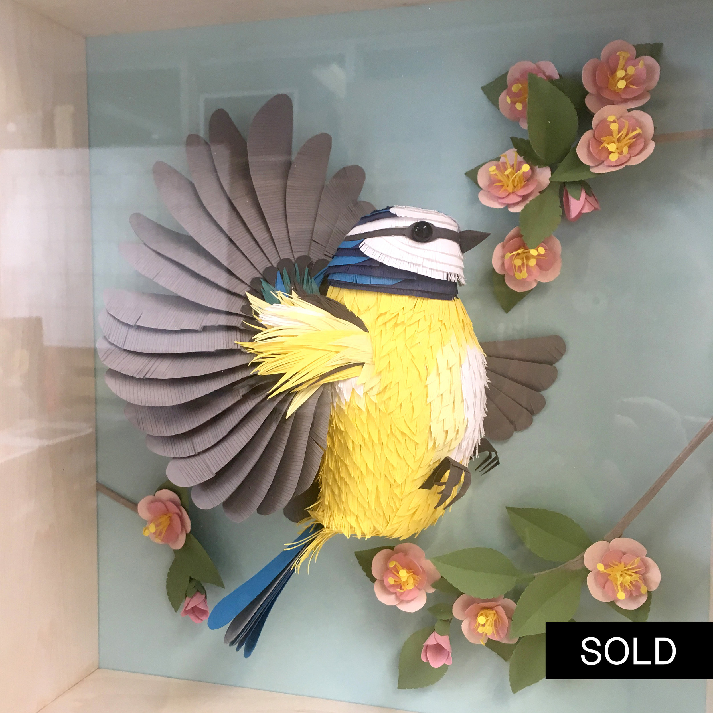 BLUE TIT - SOLD