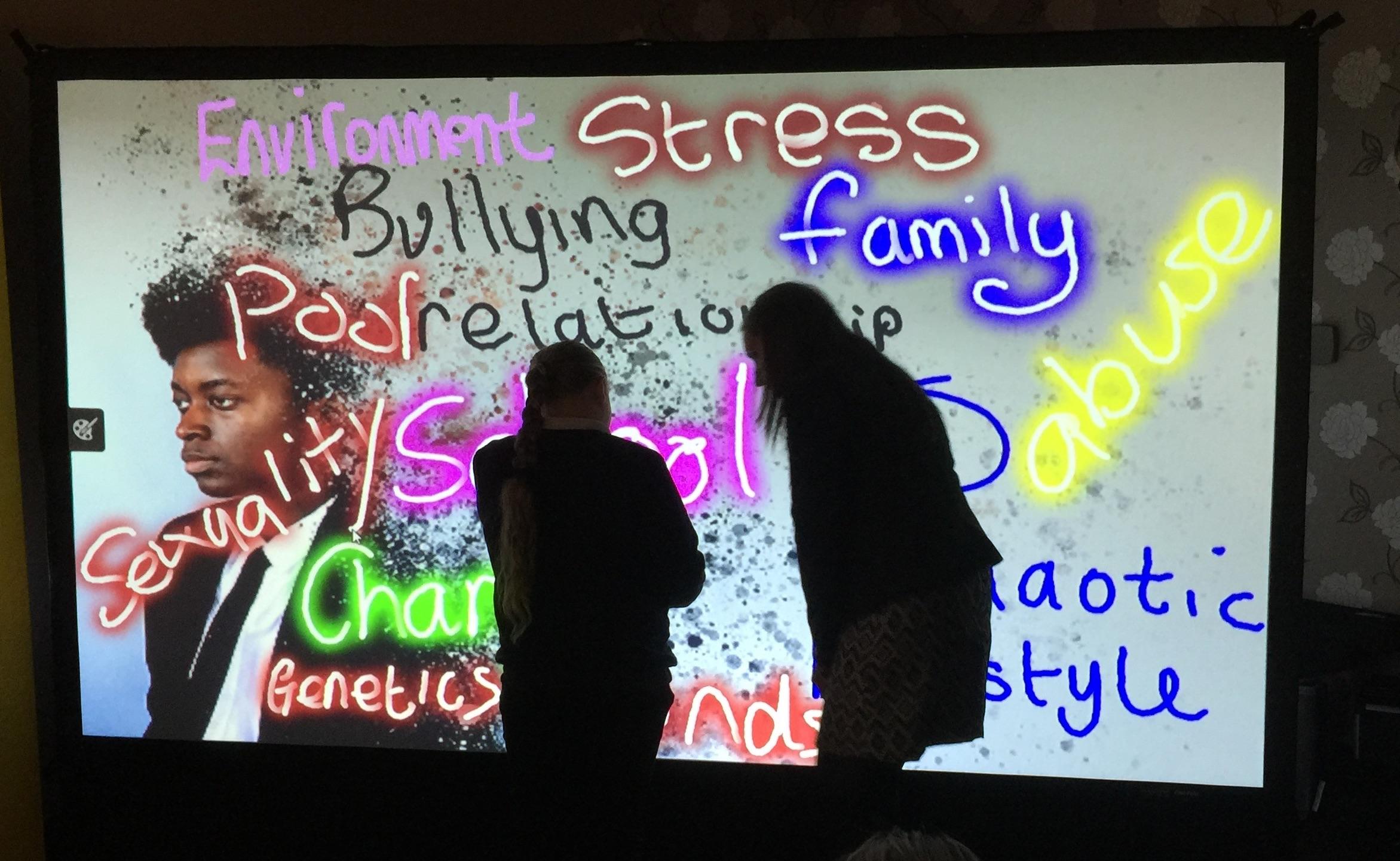 The Digital Graffiti Wall