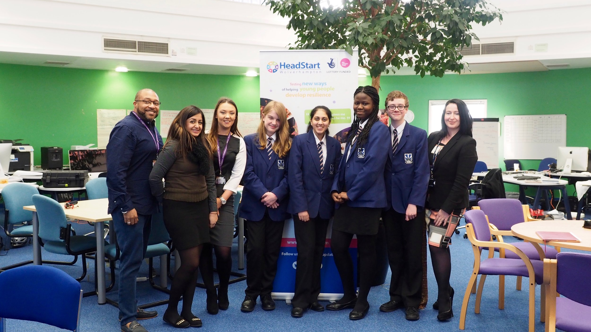 HeadStarters from Heath Park supported interviews for Youth Engagement roles at HeadStart HQ.