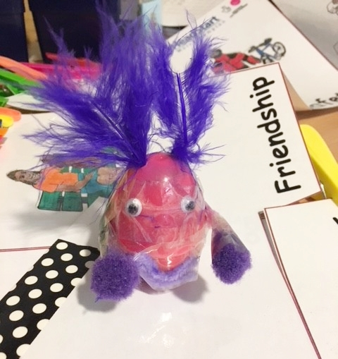 Weeble made by a Year 6 pupil – Bushbury Hill Primary School