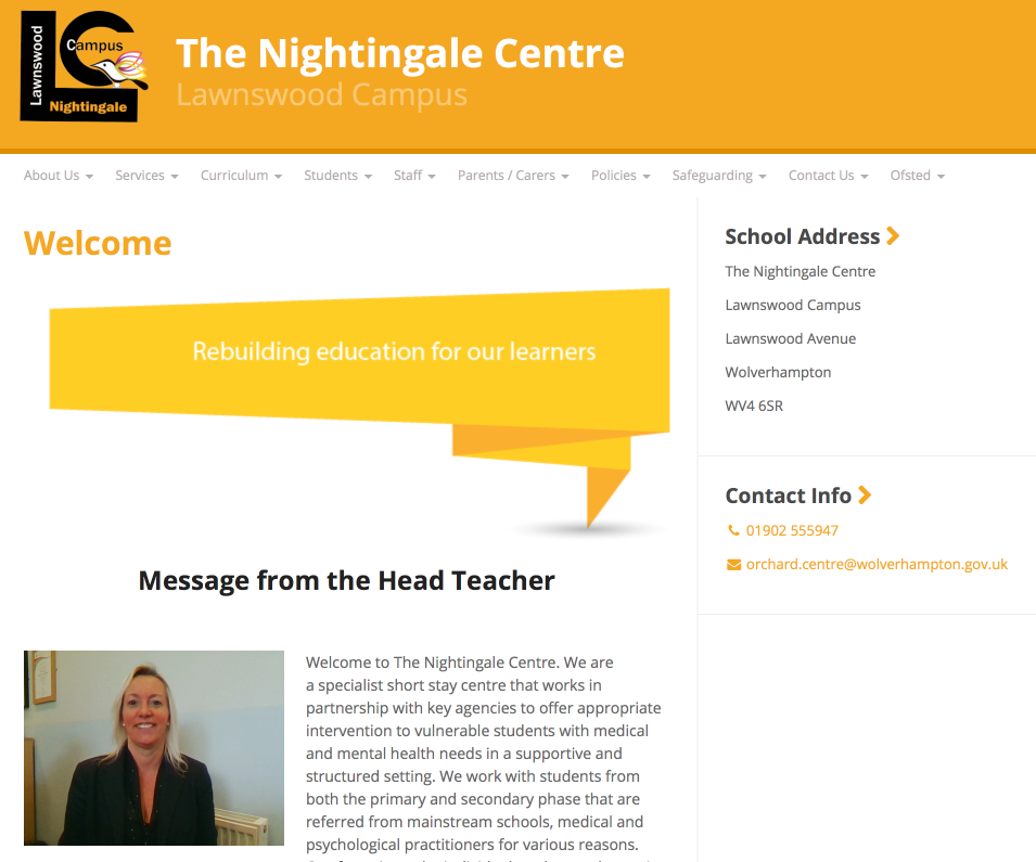The Nightingale Centre website