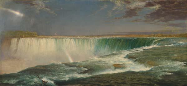 Frederick Edwin Church's    Niagara  in the Corcoran Gallery of Art in Washington, D.C.